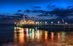 The Pier In Santa Monica 4K HD Desktop Wallpapers for 4K Ultra HD