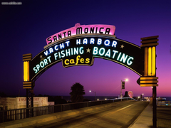 Known places Santa Monica Pier Santa Monica California picture nr