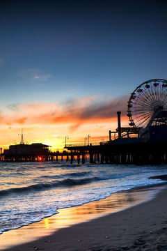 When in Los Angeles be sure to check out Santa Monica Ride rides on