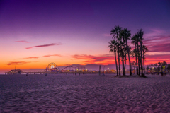 Los Angeles Santa Monica beach wallpapers