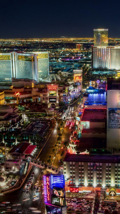 Las Vegas Strip North Side iPhone 6 Wallpapers iPod Wallpapers HD