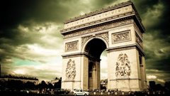 Arc de triomphe france paris architecture cities wallpapers