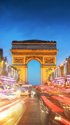 Arc de Triomphe Paris Ultra HD wallpapers