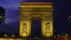 Arc De Triomphe Tourism Wallpapers