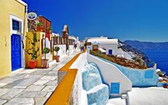 Greece oia santorini Wallpapers
