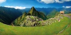 Explore Machu Picchu in Peru following the ancient Inca trail