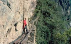 day tour Inca trail hike Machu Picchu in a group tour