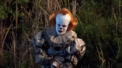 New Photos Show Bill Skarsgård as Pennywise on the Set of It