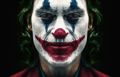 Wallpapers paint Joker Joaquin Phoenix Joaquin Phoenix