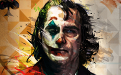 Wallpapers of Movie Art DC Comics Joaquin Phoenix Joker