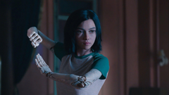 Rosa Salazar In Alita Battle Angel rosa salazar wallpapers movies
