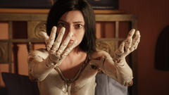 Wallpapers Alita Battle Angel Rosa Salazar 4k Movies