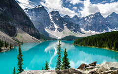 Moraine Lake Banff National Park Wallpapers