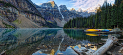 Moraine Lake Banff National Park lake Mountains wallpapers