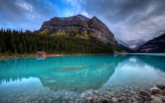 Lake Louise Banff National Park In Canada Wallpapers Hd