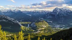 Alberta National Park Lake Igloo Snow Mountain Banff Canada