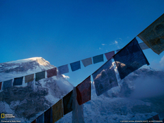 Prayer Flags Picture Mount Everest Wallpapers