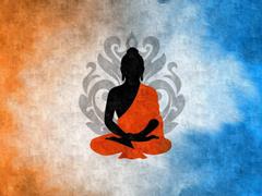 Buddha Digital Art Buddhism Silhouette Lotus Wallpapers HD