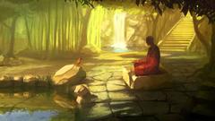 Buddhism wallpapers Good Morning Lord Buddha Whatsapp HD Image
