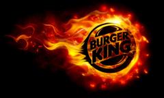 Burning Burger King Logo HD Wallpapers Wallpapers Themes