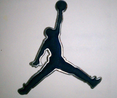 Air Jordan logos cell phone wallpapers