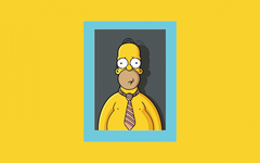 wallpapers The Simpsons Homer Simpson main protagonist