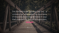 Padmasree Warrior Quote I m thrilled to be joining Gap Inc a