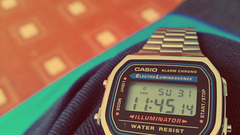 Retro watch casio wallpapers