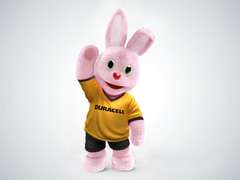 Duracell Bunny Pink