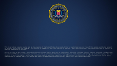 Logos For Fbi Logon Screen Wallpapers