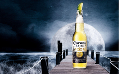Corona Extra Orange White Moon HD Wallpapers Pi Wallpapers