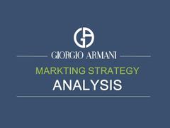 Giorgio Armani PowerPoint Presentation PPT