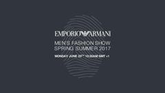 Emporio Armani Men SS17 Live Stream