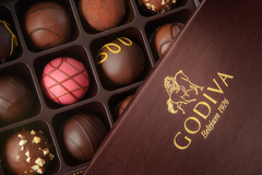 Godiva box with chocolates Joshua Reis