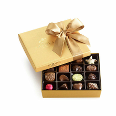 Godiva Chocolatier Classic Gold Ballotin Chocolate Perfect Hostess
