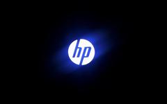 HP Glowing logo wallpapers hd