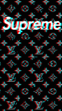 Louis Vuitton Supreme Mobile Wallpapers by ARON260
