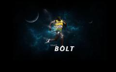 Usain Bolt runs like Puma wallpapers and image