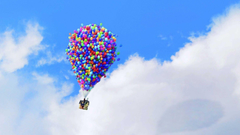 Up Wallpapers Pixar Cartoon Balloons Home