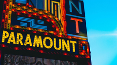 wallpapers 2560x1440 paramount signboard inscription