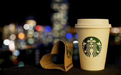 Paper Heart Shaped Starbucks Coffee HD Wallpapers