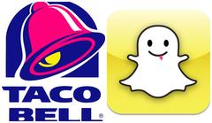 Taco Bell Using Snapchat