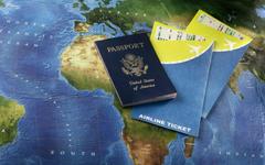 Passport Visa plane ticket wallpapers and image