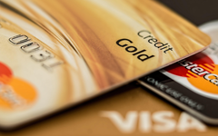 wallpapers credit cards 4k VISA bank close