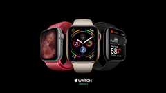 Wallpapers Apple Watch Series 4 silver gold black Apple September