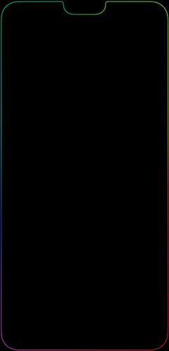 An awesome wallpapers for the p20 pro embracing the notch Thank you