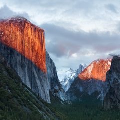 How to Get OS X El Capitan Wallpapers on iPhone iPad