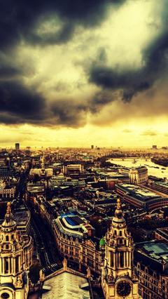 Dark City iPhone 4 Wallpaper Desktop HD Wallpapers