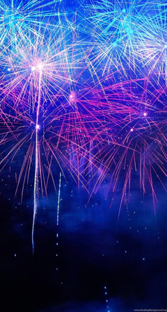 Coloful Fireworks iPhone 5s Wallpapers Desktop Backgrounds