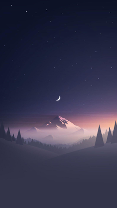 Iphone 8 Plus Wallpapers Zip Best Of Stars And Moon Winter Mountain